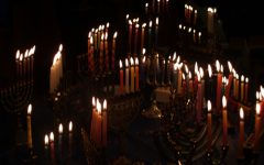 CESJDS families joined together to celebrate Hanukkah with several virtual events including candle lighting.