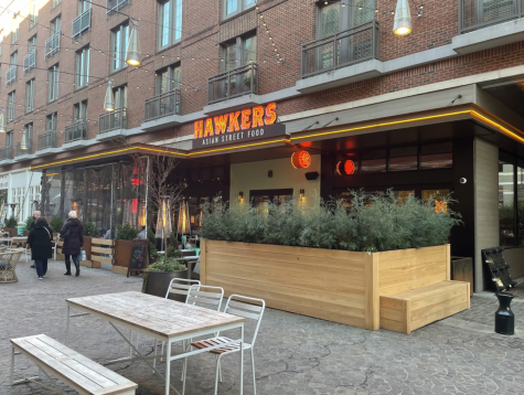 Hawkers Asian Street Food restaurant in Bethesda Row.