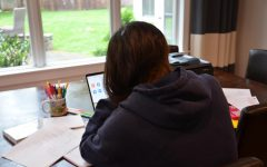 With added stress from the COVID-19 pandemic, online school helps to relieve some of that stress.