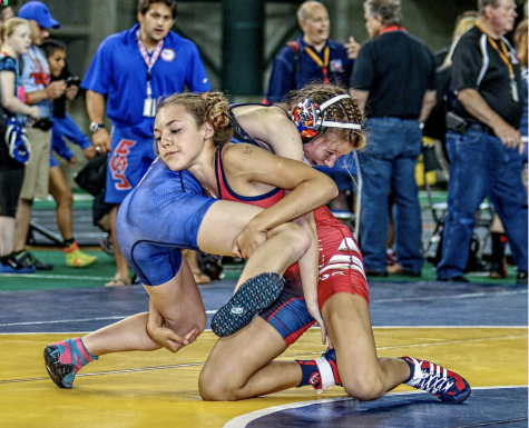 Two females join JDS wrestling team