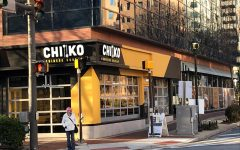 Chiko can be found at the corner of Woodmont Avenue and Elm Street.