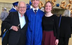 Lena and Isaac Nadaner appreciated the time spent with their grandfather before the pandemic, such as when he was able to attend Isaac's graduation in Feb. 2020.