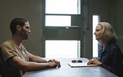 The main character, Mohamedou Ould Slahi (above left) with his defense attorney Nancy Hollander (above right)