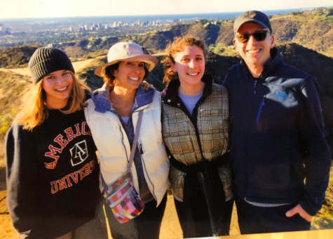 Rothstein and her family hike through Franklin Canyon before the pandemic.