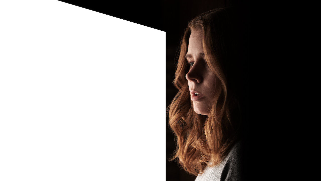 """Amy Adams plays Anna Fox, a woman with a severe anxiety disorder, in the new Netflix film, """"Woman in the Window""""."""