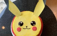 A cake of the character Pikachu is one example of Cohens creative creations.